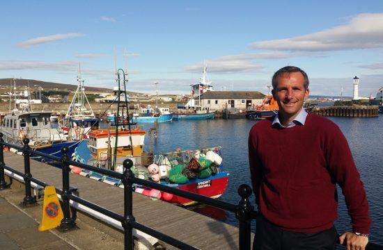 Orkney's MSP, Liam McArthur