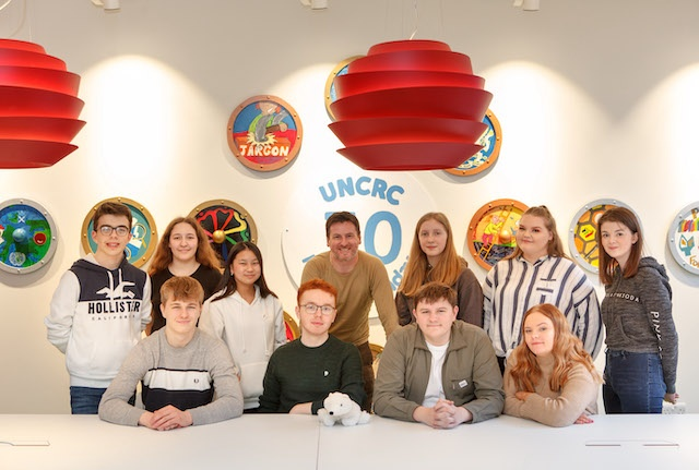 Bruce Adamson and Young Advisers Group